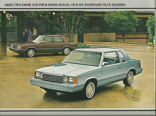 This vintage photo is legitimately exactly what my sister's car looked like only her's was gold!